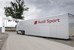 Logistic trip around the world for Audi