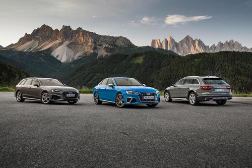 Audi A4 Avant, Audi S4 Limousine TDI, Audi A4 allroad quattro