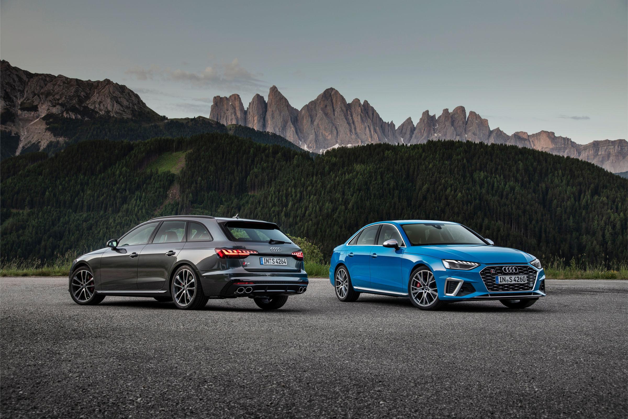 Audi S4 Avant TDI, Audi S4 Sedan TDI