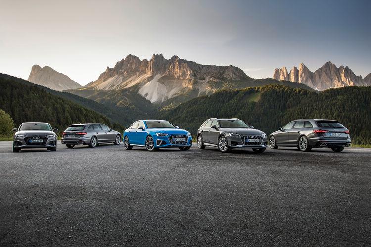 Audi A4 Limousine, Audi A4 Avant, Audi S4 Limousine TDI, Audi A4 allroad quattro, Audi S4 Avant TDI