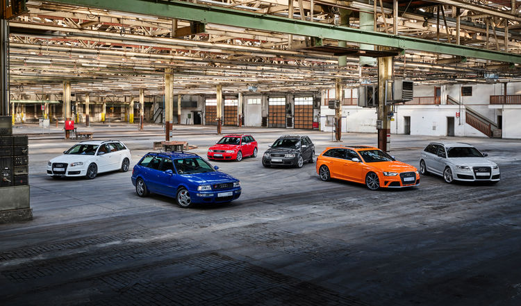 High-Performance. Full of Character. Individual. Audi Sport Is Celebrating 25 years of the Audi RS Models