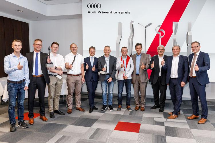 Safety first: Audi verleiht Präventionspreis