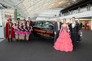 Prinzenpaar der Narrwalla fährt Audi Q7