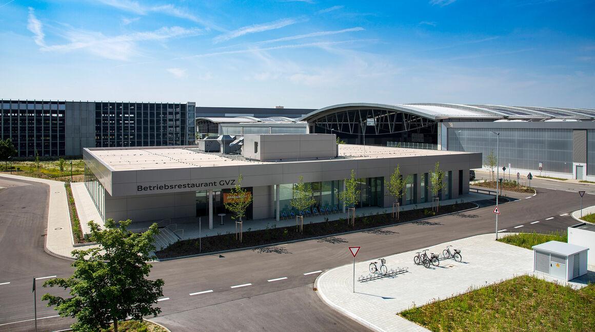 Audi erweitert sein kulinarisches Angebot: Betriebsrestaurant im GVZ eröffnet