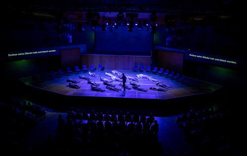 Los Angeles Master Chorale beim Gastspiel der Salzburger Festspiele in Ingolstadt