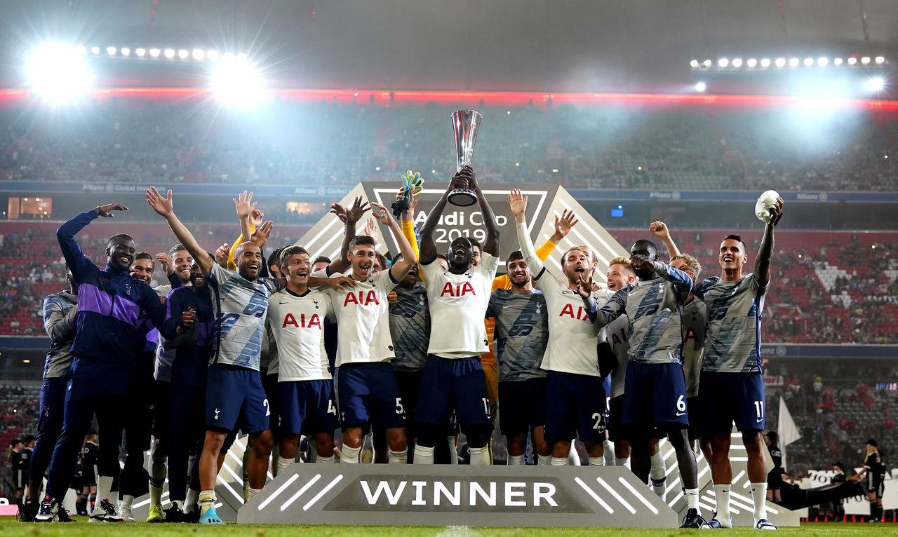 Tottenham Hotspur wins the 2019 Audi Cup