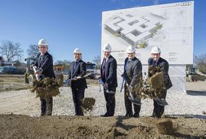 """Spatenstich """"Areal Süd"""":  Audi schafft Platz für mehr Bürofläche"""