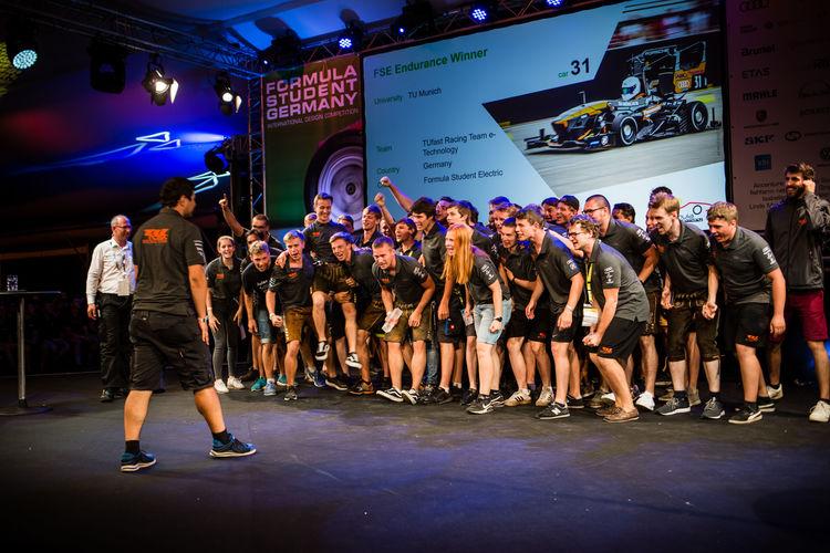 Audi Congratulates TUfast Formula Student Racing Team on Victory at Hockenheim