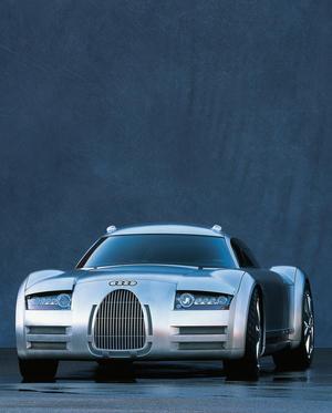 Audi Design Studie für die Autostadt Wolfsburg (Presse Information)