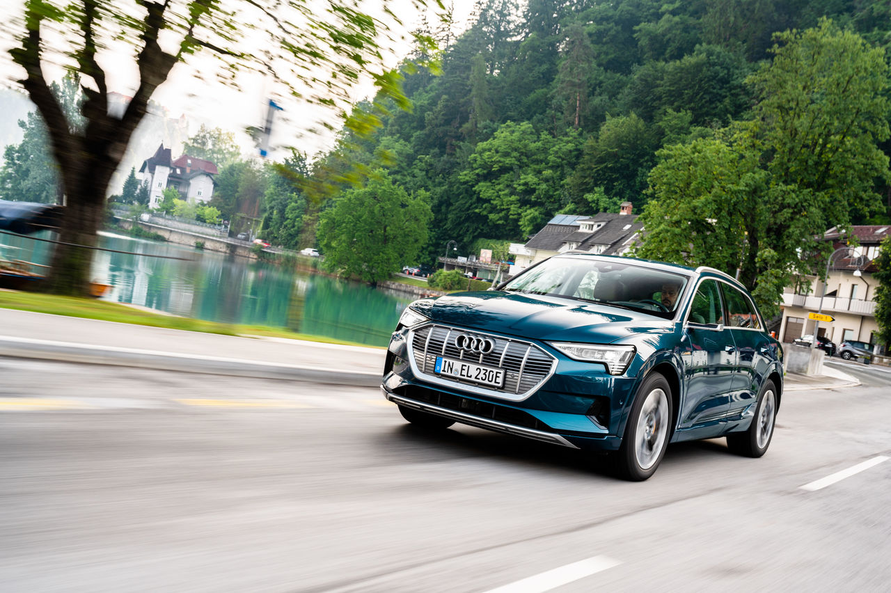 Audi e-tron Is World Market Leader in Its Segment