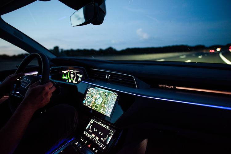 Audi e-tron 55 quattro: Langstreckentest