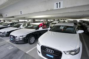 Neue Autos auf rund 33.000 Quadratmeter