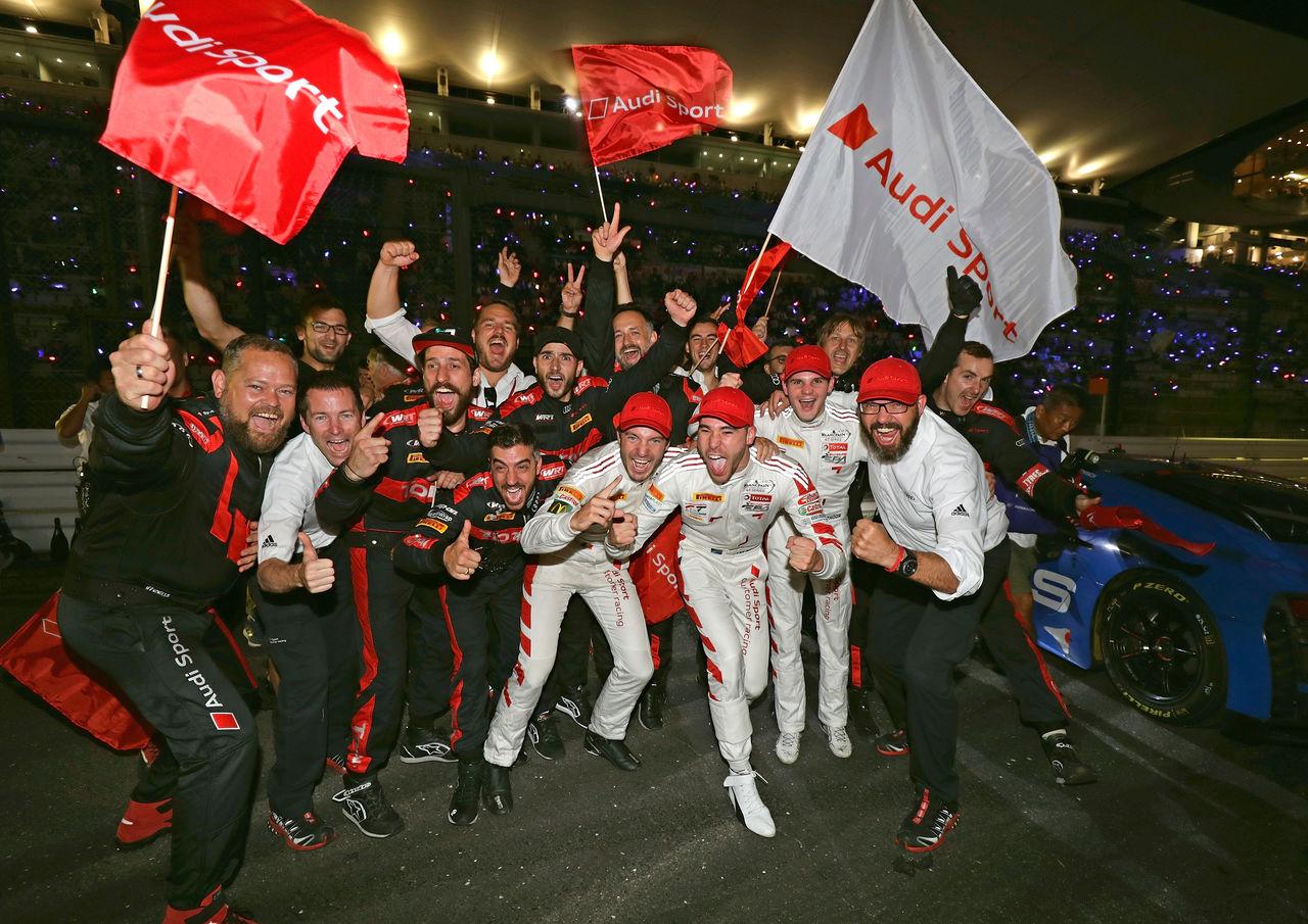 Audi Sport wins 10 Hours of Suzuka