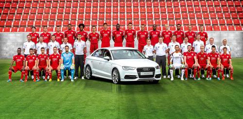 Die Mannschaft des FC Ingolstadt 04
