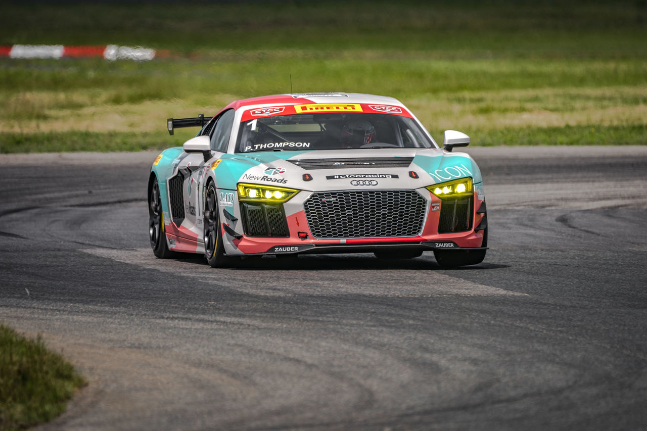 Audi R8 LMS GT4 wins first title in 2019 in Canada