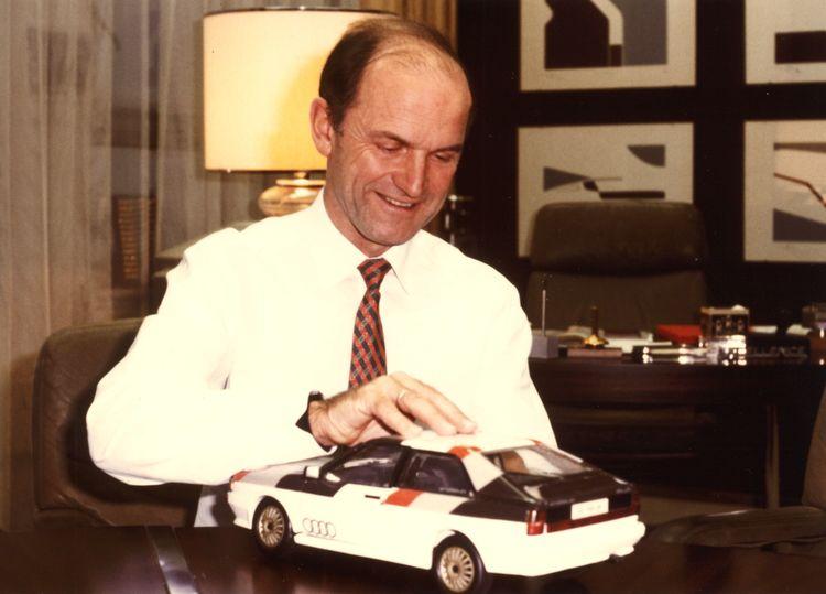Audi grieves for Ferdinand Piëch