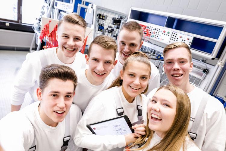 Neue, zukunftsfähige Ausbildungs- und Studienangebote bei Audi