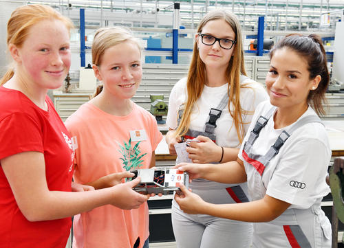 Girls for Technology Camp 2019: girl power at Audi in Ingolstadt