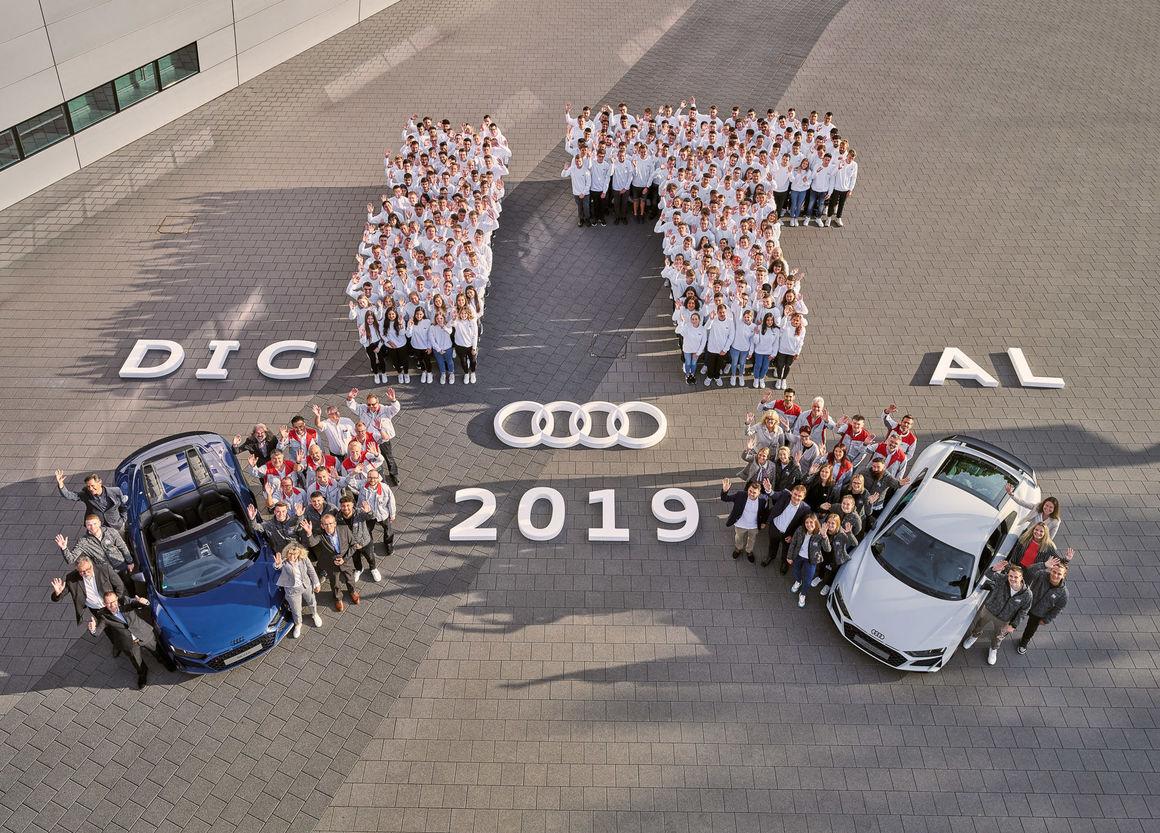 Start bei Audi in Neckarsulm für rund 280 junge Menschen