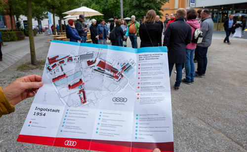 Eventwochenende bei Audi anlässlich 70 Jahre Standort Ingolstadt