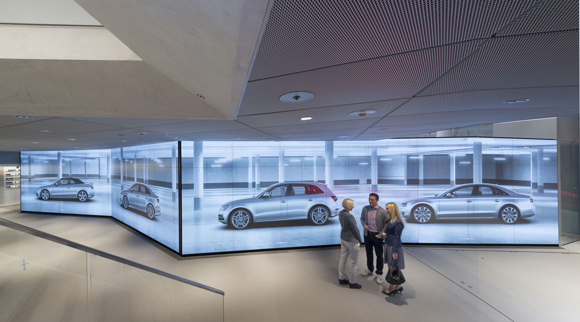 Permalink to Audi Car Showroom
