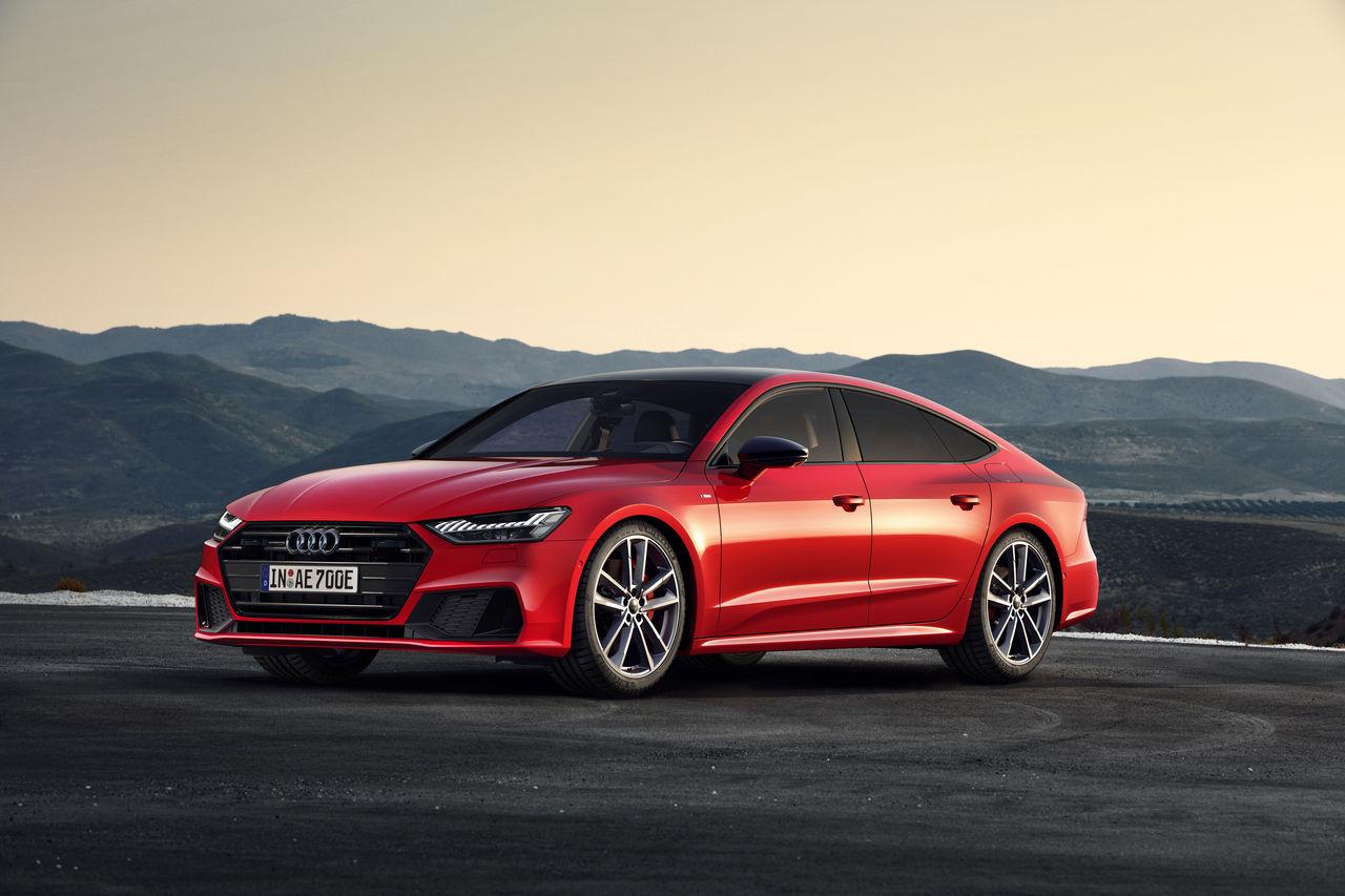 The Gran Turismo among the plug-in hybrids:    Audi A7 Sportback 55 TFSI e quattro