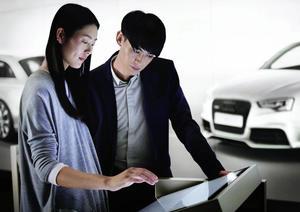 Audi City Beijing eröffnet