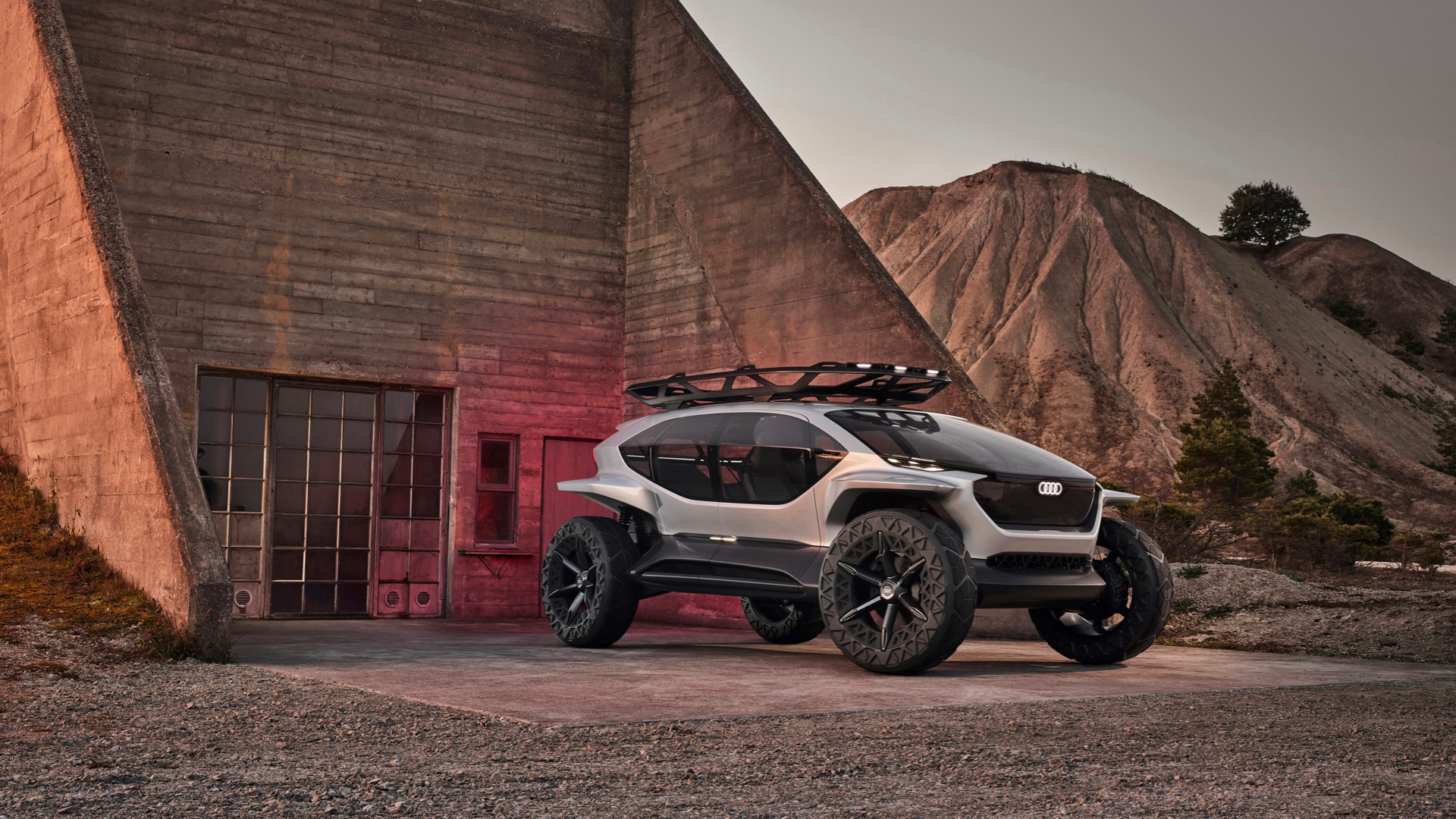 Audi AI:TRAIL quattro: Off-Roader of the Future
