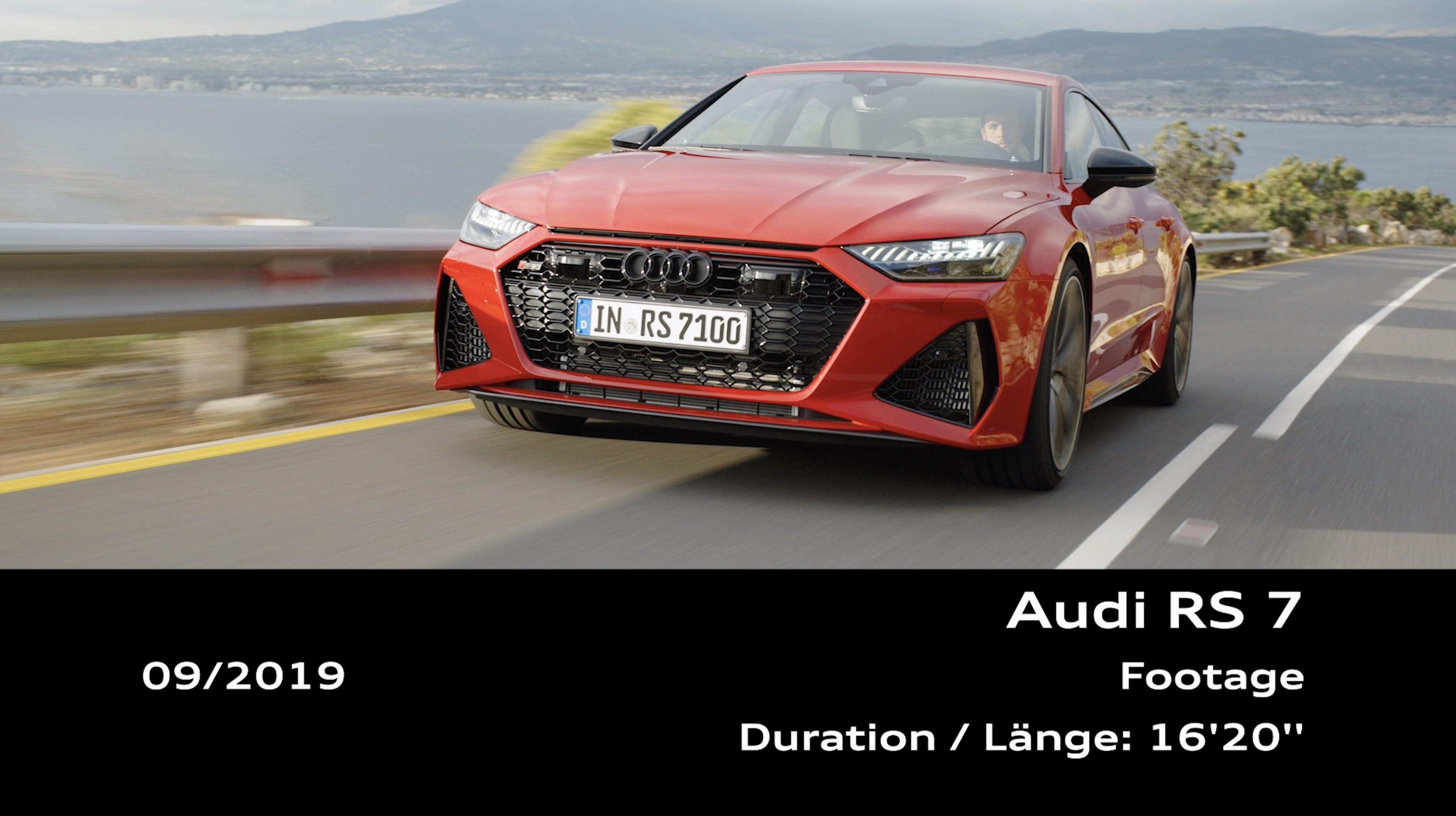 Audi RS 7 Sportback (Footage)