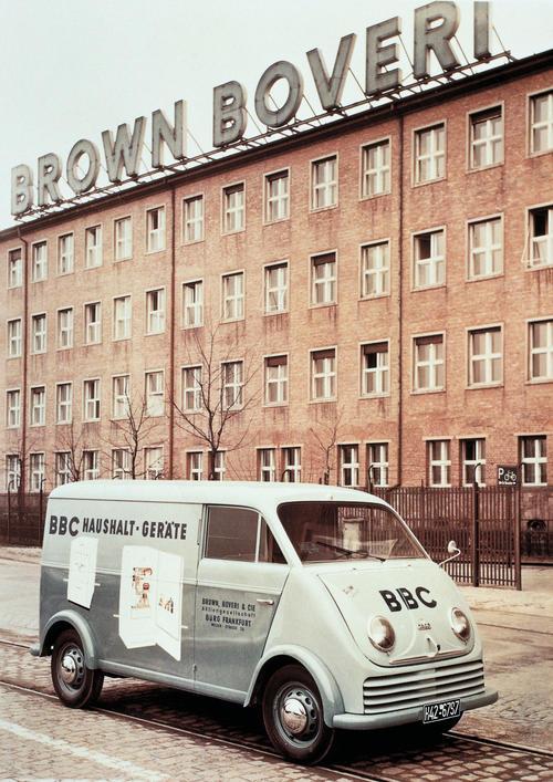 DKW 3=6 (F 800/3) rapid delivery van, three-cylinder two-stroke engine, 900 ccm, 32 bhp, 1955