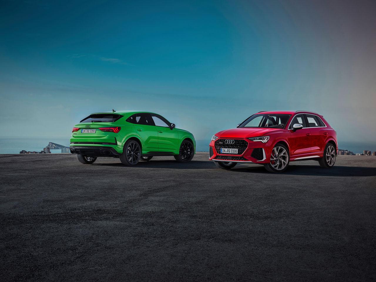Compact Power Packs Audi Rs Q3 And Audi Rs Q3 Sportback