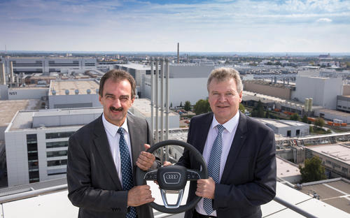 Leadership change at the Ingolstadt site: Achim Heinfling takes over as new Plant Manager