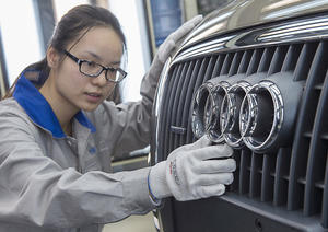 Audi Produktion in Changchun, China