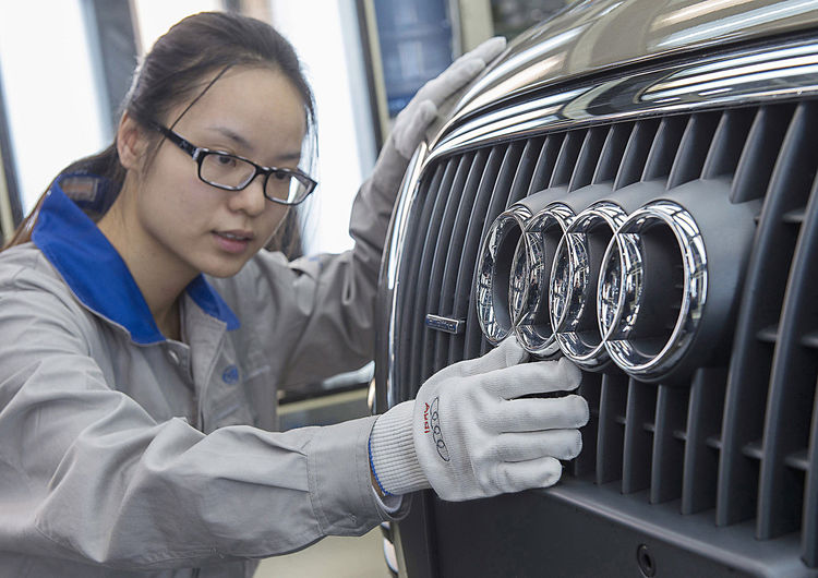 Audi Production in Changchun, China