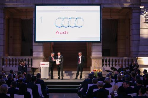 """Audi is """"Best Employer"""" in 2014"""