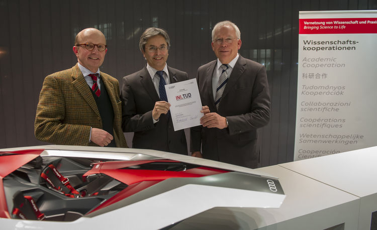 Audi agrees on strategic cooperation with the Technical University of Dresden