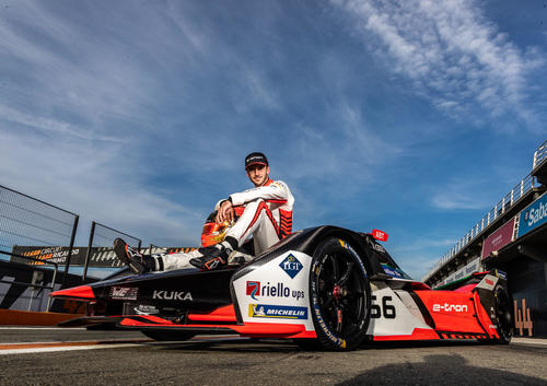 Formula E test, Valencia 2019