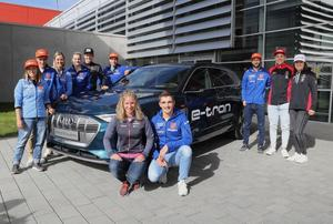 DSV athletes and Audi start the ski season together again