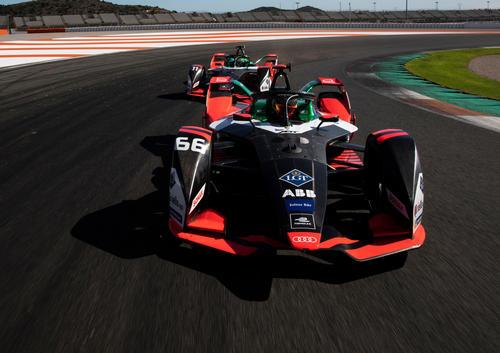 Testfahrten Formel E, Valencia 2019