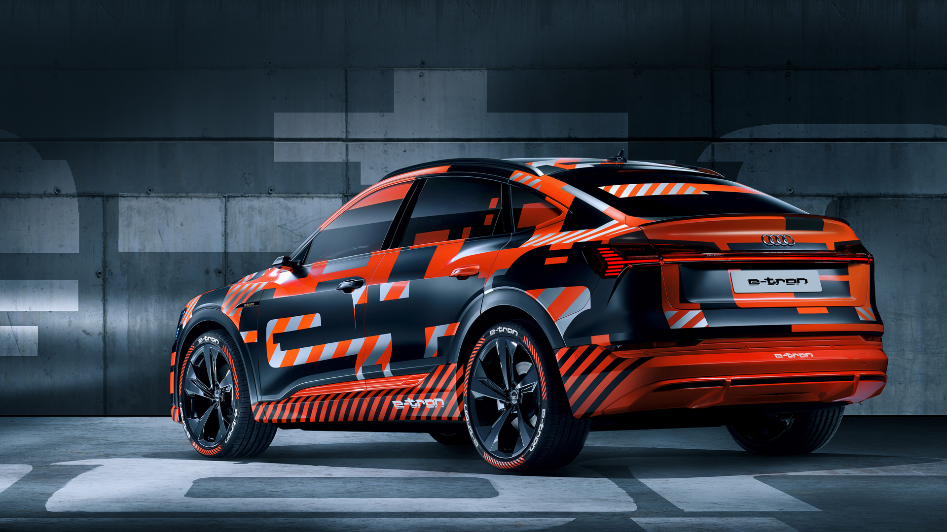 World premiere of the Audi e-tron Sportback