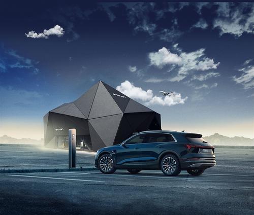 Audi elektrisiert München: Neuer, kostenloser Lade-, Park- und Shuttleservice am Flughafen
