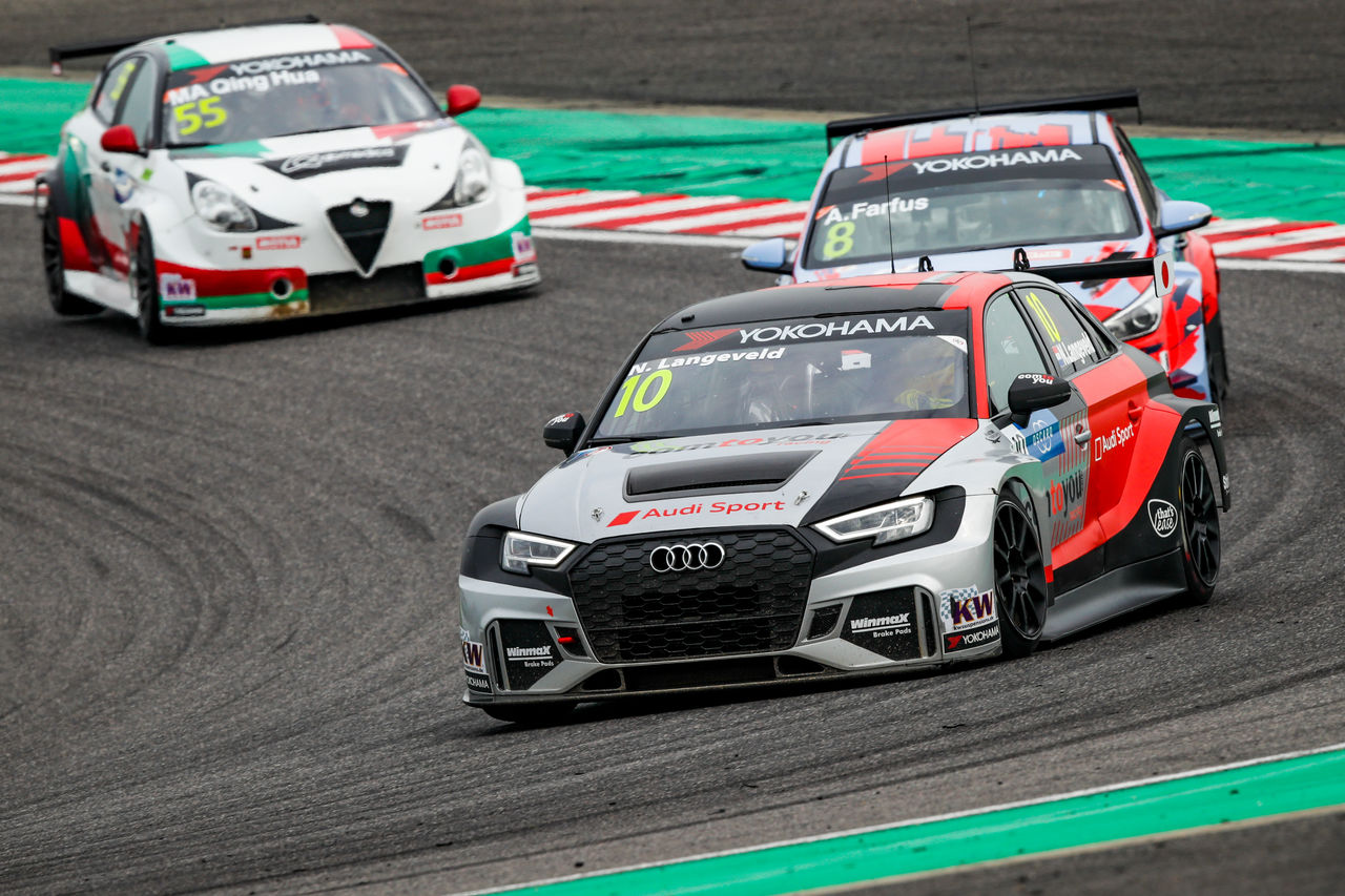 First podium for Audi Sport driver Niels Langeveld in FIA WTCR