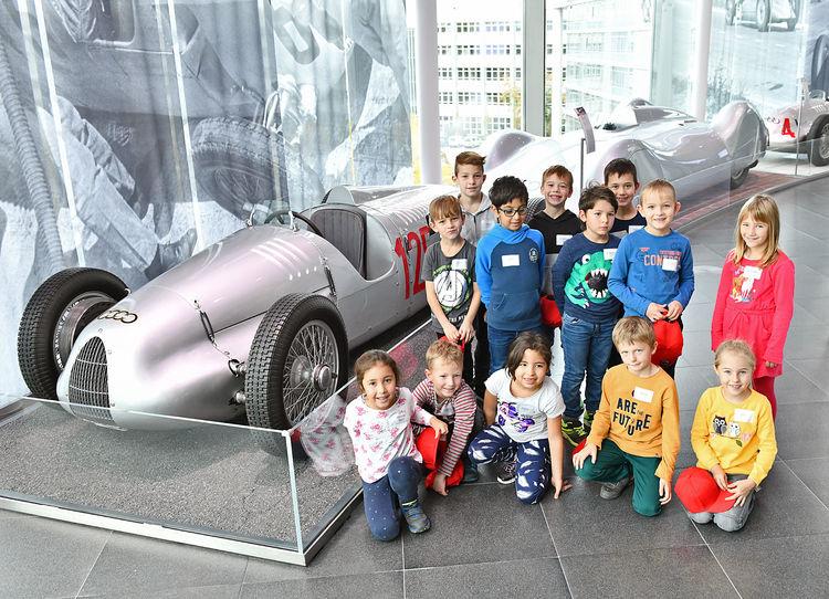 Von Einparkhilfen und Fledermäusen: Der MINT-Tag bei Audi
