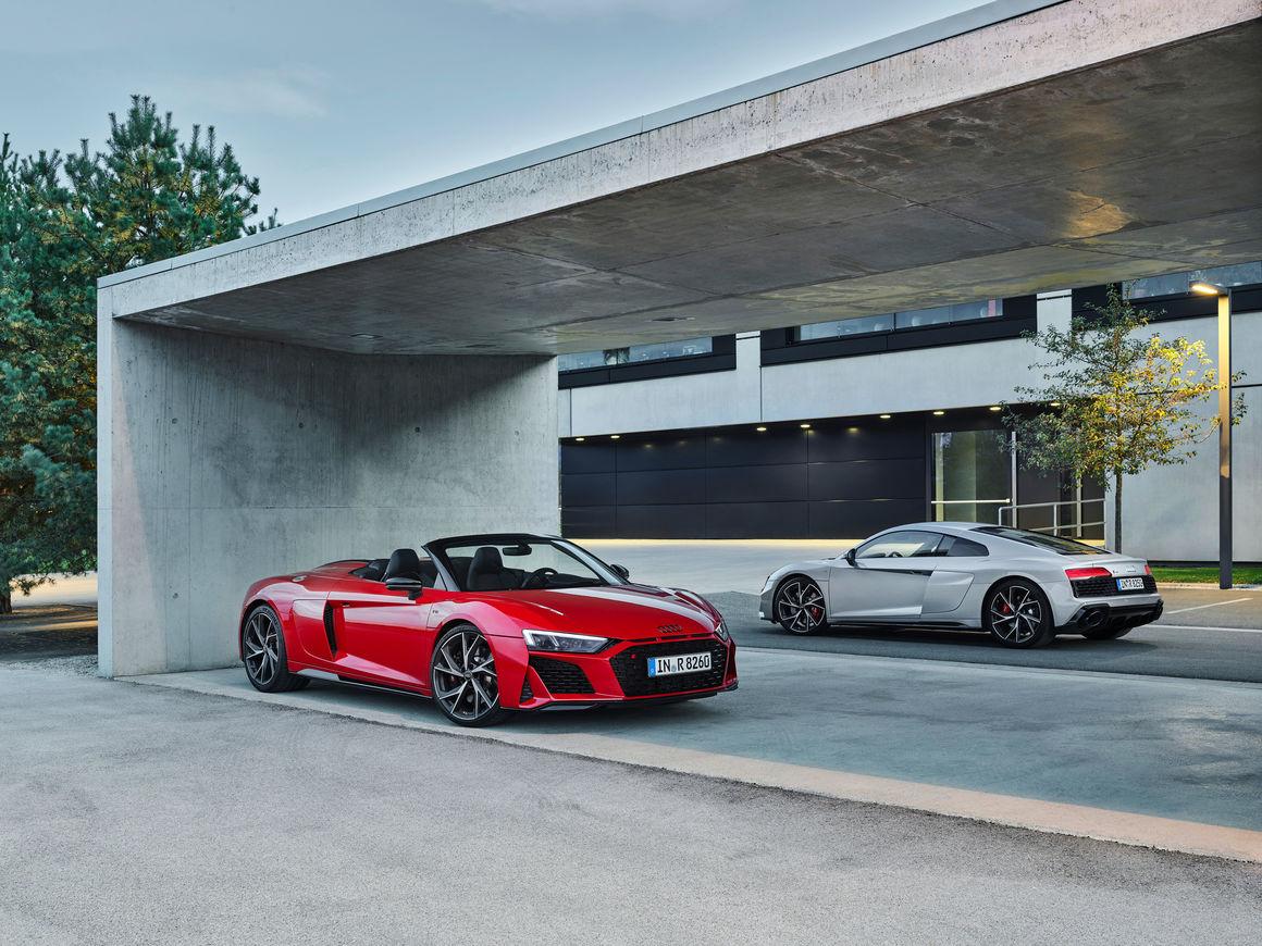 Audi R8 V10 Rwd Spyder Audi R8 V10 Rwd Coupe Audi Mediacenter