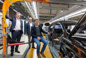 Bundesvorsitzender von Bündnis 90/DIE GRÜNEN zu Besuch bei Audi