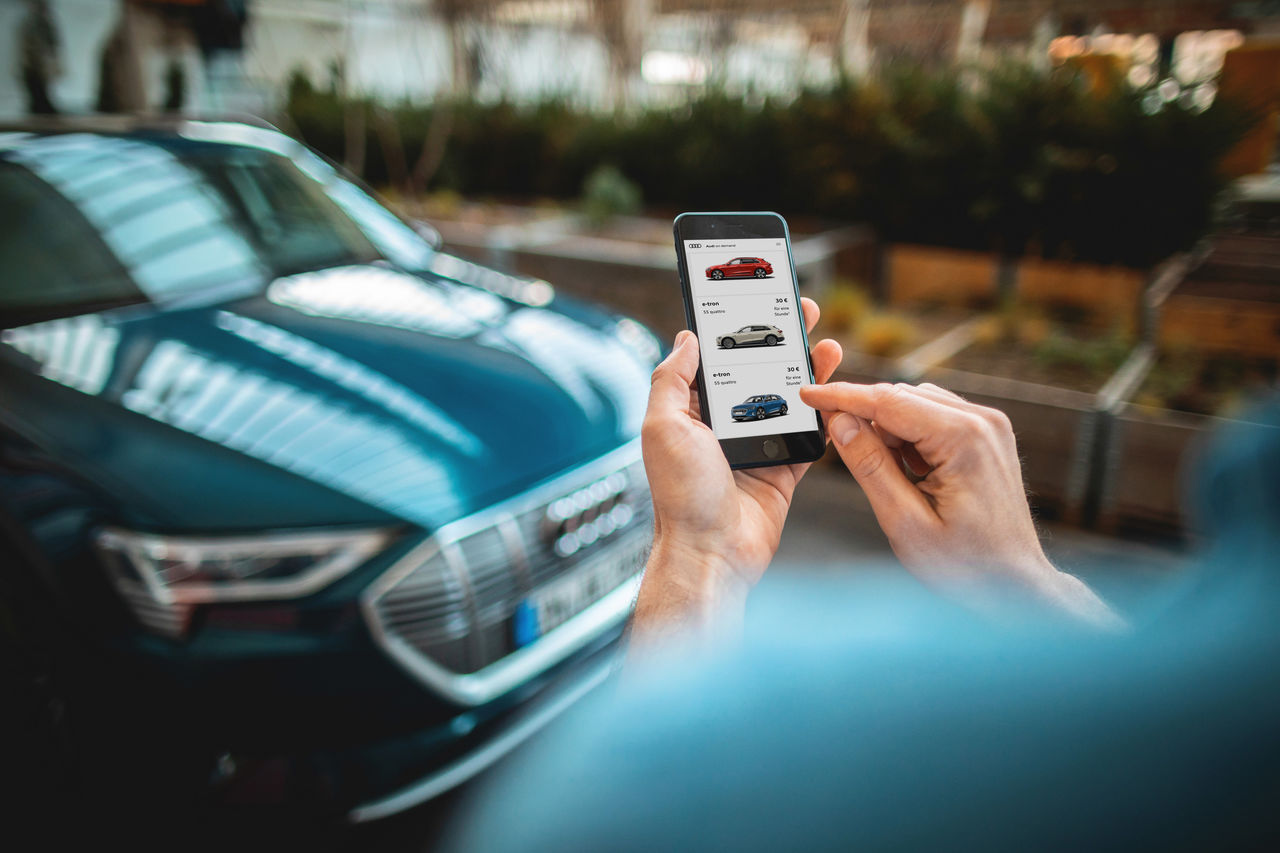 Mobility offering expands: large-scale rollout of Audi on demand in Germany