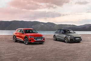 """Audi wins two """"Golden Steering Wheel"""" awards The A1 and the e-tron win their classes"""
