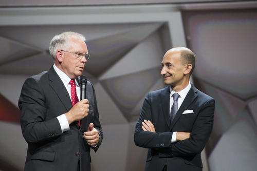 Audi at the Volkswagen Group Night - IAA Frankfurt 2013