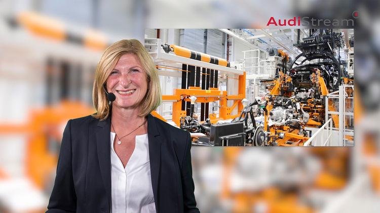 AudiStream: Virtuelle Reise in die Produktionswelt von Audi in Ingolstadt