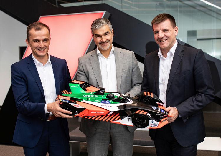 Audi und Schaeffler: gemeinsam in die Zukunft